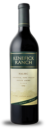 2015 Kenefick Ranch Malbec Image